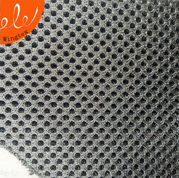 265gsm 100 Polyester 3mm 3d air mesh spacer stof