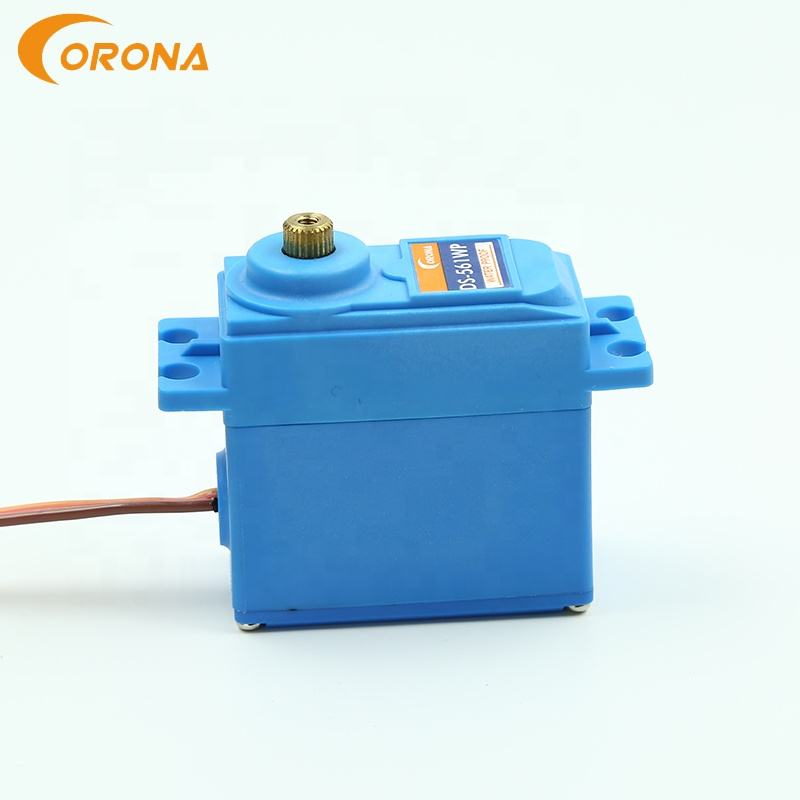 Waterproof [ Waterproof Servo Motor ] Waterproof Corona DS561WP Standard Size Waterproof Metal Gear Rc Servo Motor