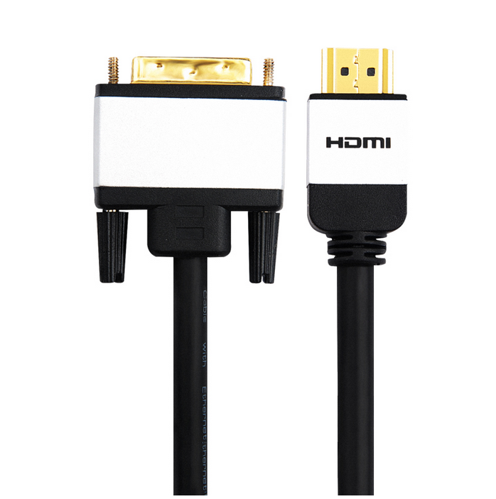 HDMI A to DVI D hdmi to dvi converter hdcp maleto male gold plated 3m 5m 6m