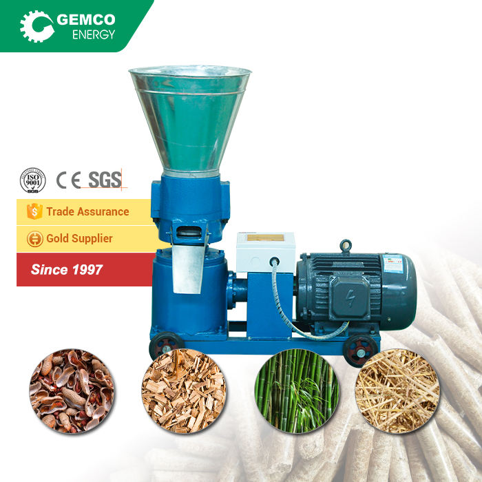 2016 HOT Wholesale Price Cheap Manual Flat Die Portable Homemade Wood Pellet Mill