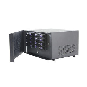 8 bay NAS caso hot swap Network Attached Storage NAS caso di server
