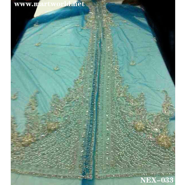 Blu arabo kaftan wholesale(vendita nex- 033)