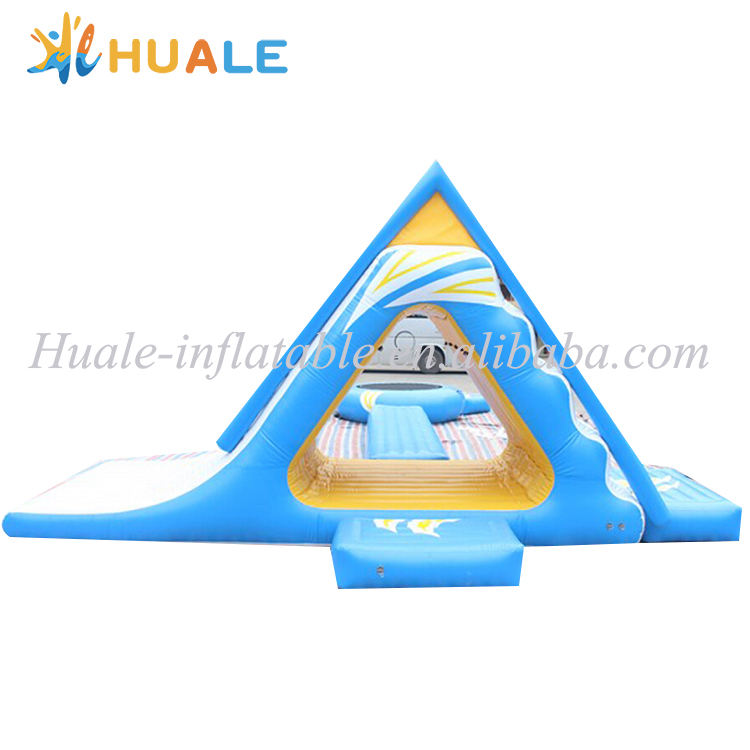 Inflatable floating water park, commercial inflatable water park เกาะลอย, Inflatable aqua park สำหรับขาย