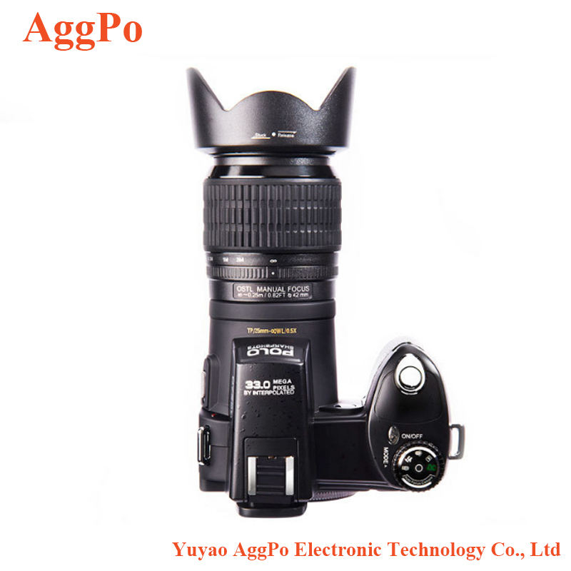 Digital camera autofocus 3 lenses long focus wide Angle 2 camera mode concentric circle standard DSLR