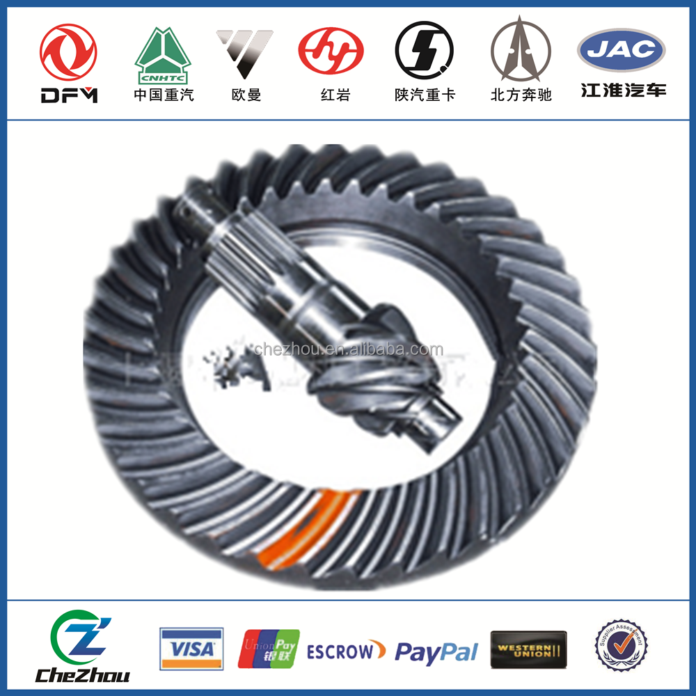 EQ145 EQ-140 Dongfeng Truck Ring and Pinion Gears for cars accessories