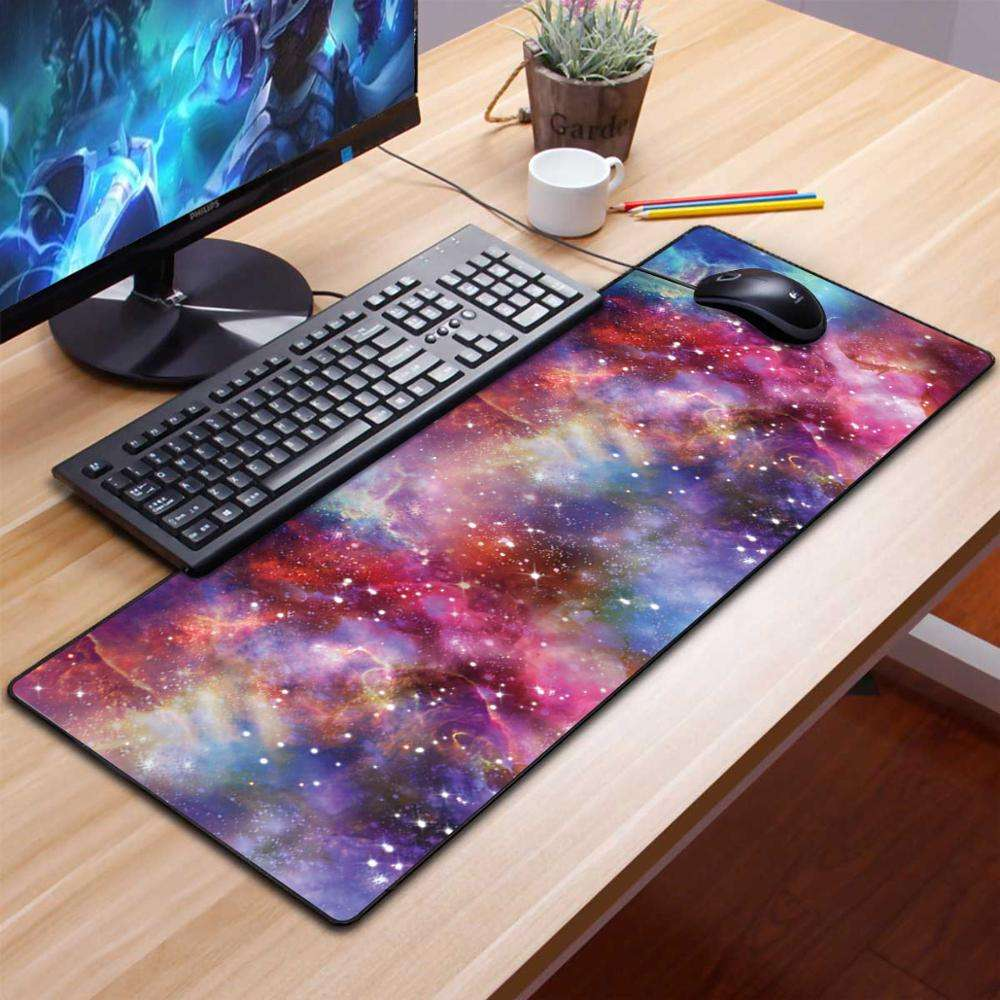 ultra thin PU leather big custom gaming mouse pad full desk sublimation mousepad XXL wholesale mouse pad