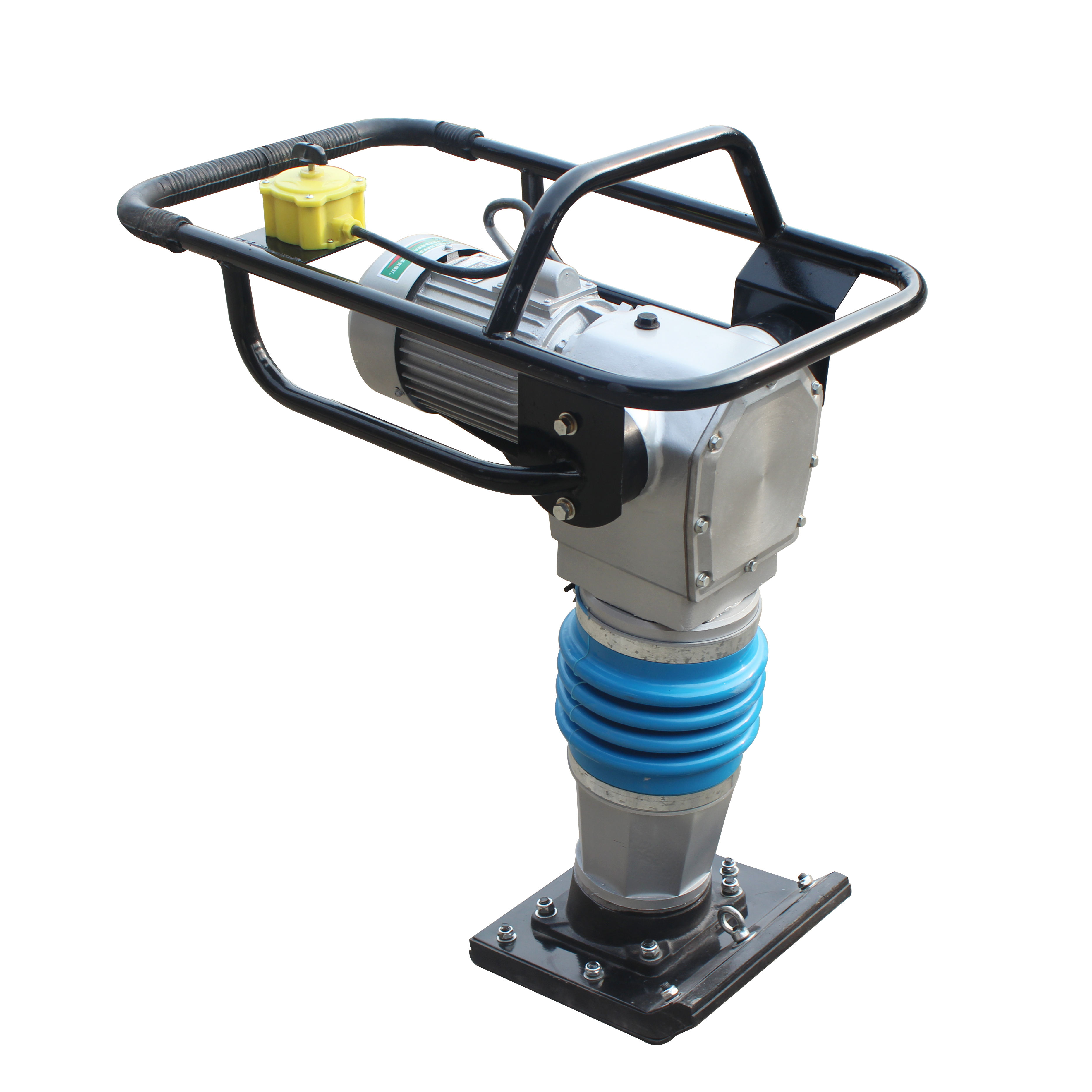 High Quality Earth rammer Frog tamping rammer 3KW motor engine Electric type Tamping Rammer