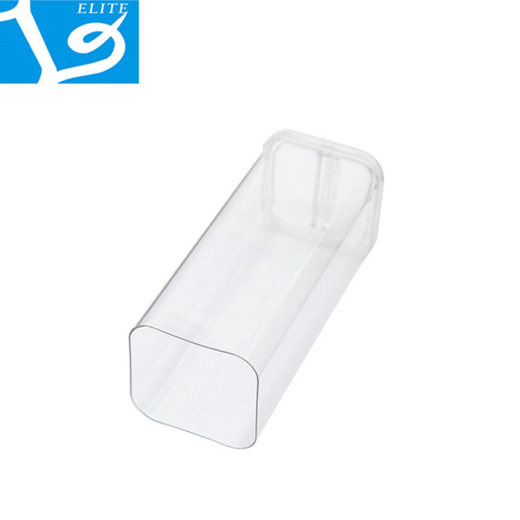 2019 High Quality Hot Selling Transparent Packaging Clear Solid Plastic Square Rectangular Tube