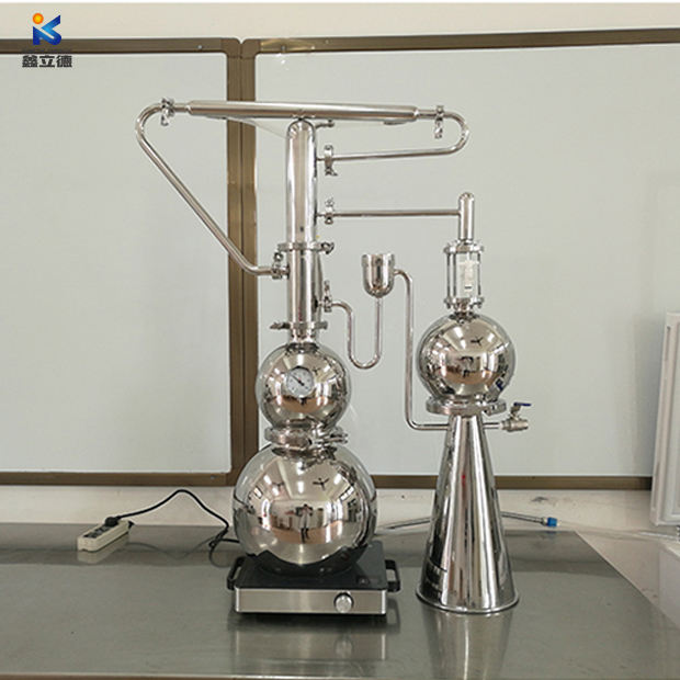 10L stainless steel Natural Curry Leaf Essential Oil distillation machine oregano essential oil distiller