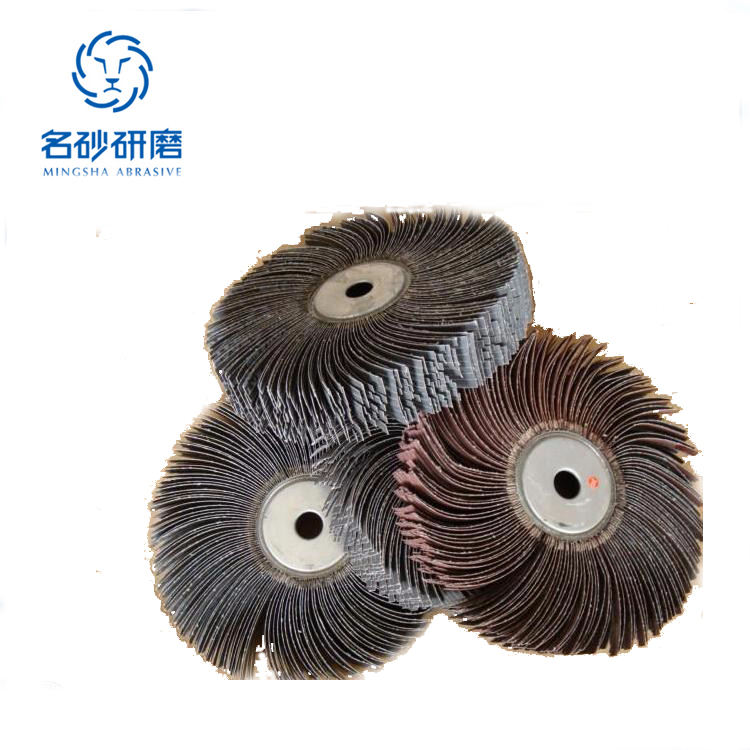 Customized Abrasive polishing emery cloth wire wheel for grinding wood furniture