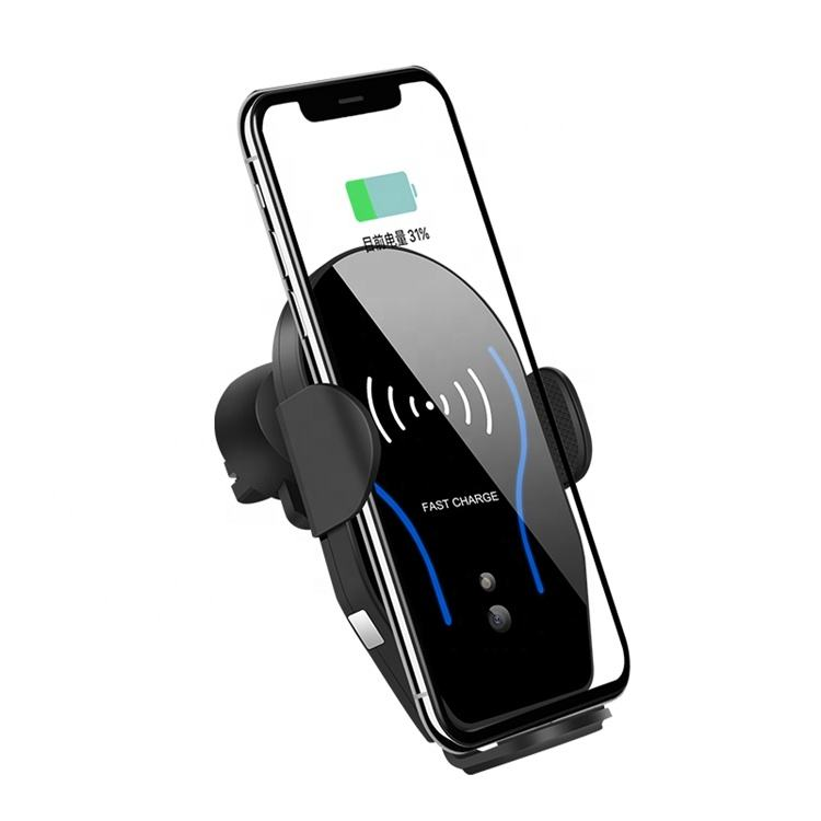 Hot Selling Auto Draadloze Telefoon Oplader Holderwith Smart Touch voor iphone 8 X XS