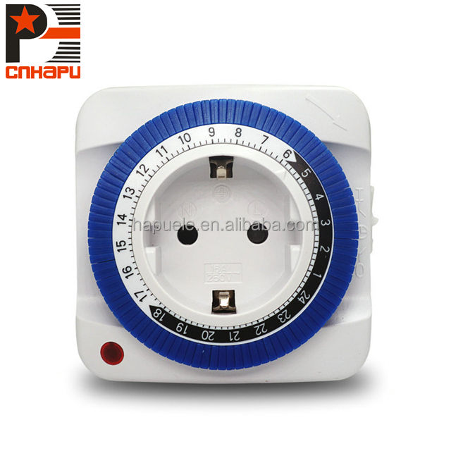 US Hydroponics 220V 24 Hour Mechanical Outlet Timer