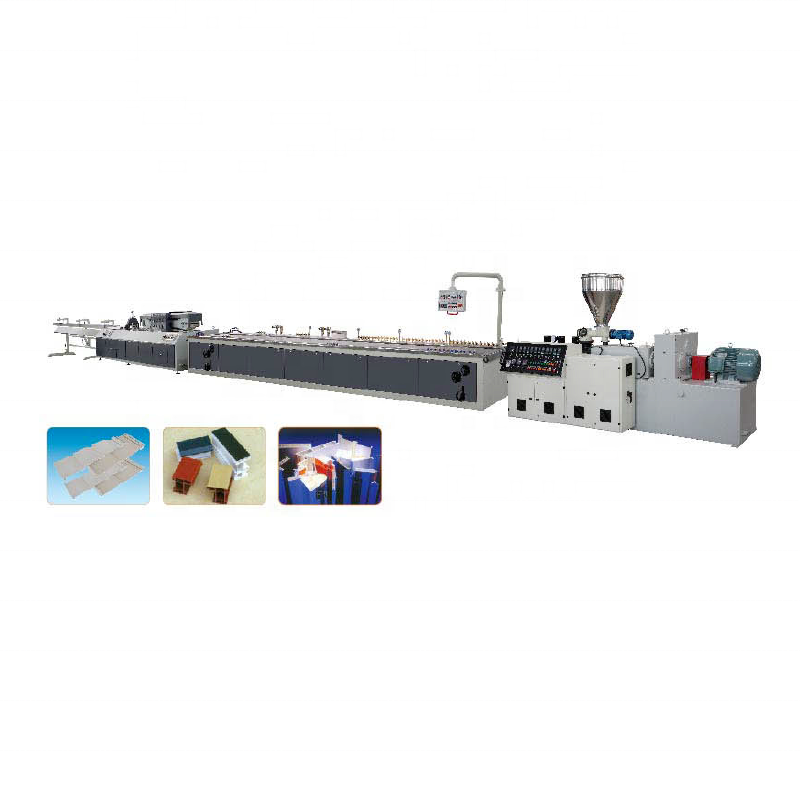 Machine d'extrudeuse de profil en plastique PVC sur mesure/ligne de production