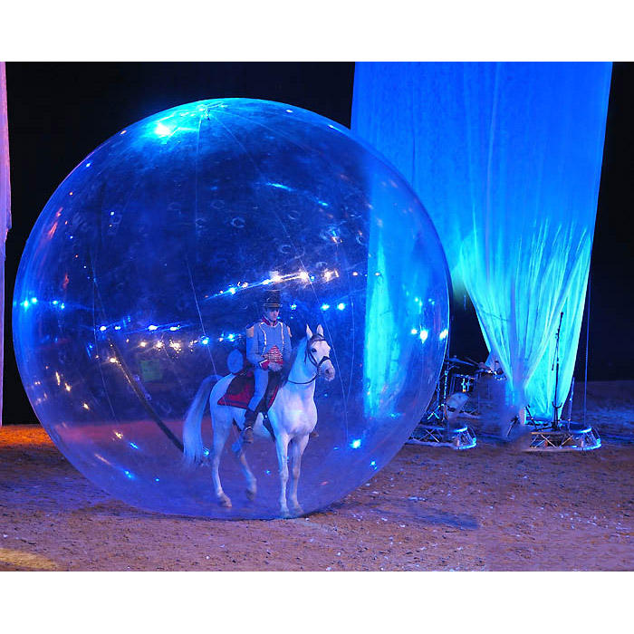 large inflatable transparent ball decoration inflatable showing ball for sale