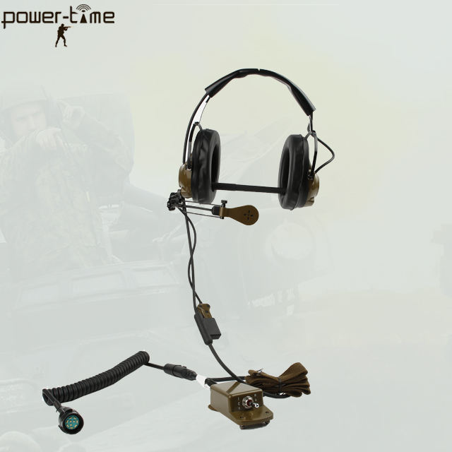 Racal RA480 RA480//1019 Military Radio Speaker MIC For PRC-139 and PMR