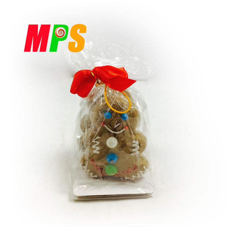 Decorated Christmas Biscuit Gingerbread Cookie Man