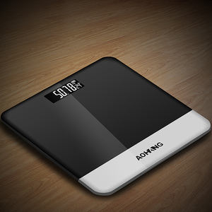 New Tempered Glass Weight Measurement Scale Household Health Bathroom Electronic Weighing Scale