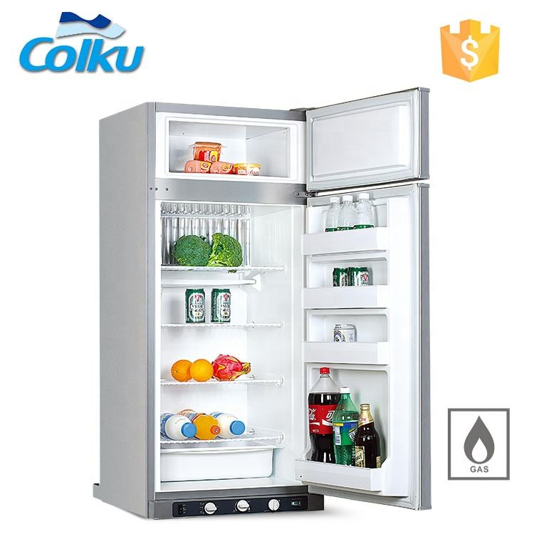 Fridge And Freezer All In One 3-Way 220L 250L Gas Fridge Restaurant Refrigerator