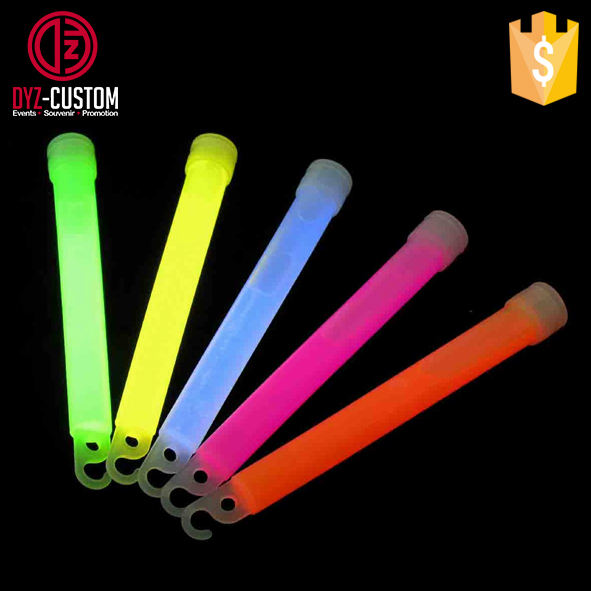 6 inch glow light stick Outdoor Chemical Liquid glow stick