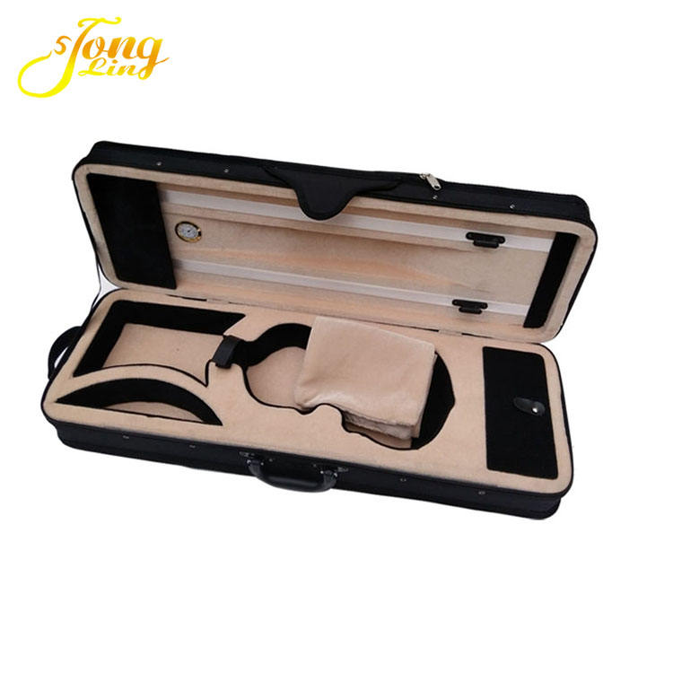 Black High Quality Prices Violin Case Wholesale