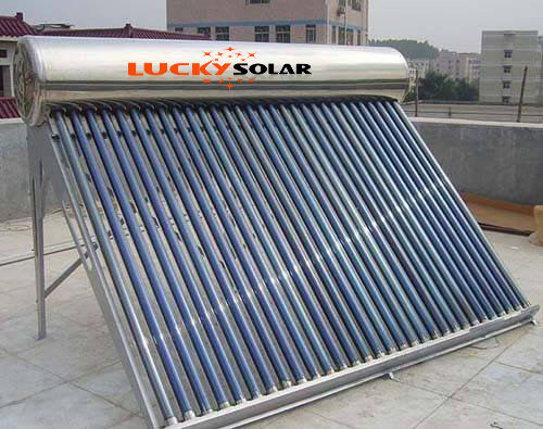 Corrosion-Proof Stainless Steel Solar Hot Water Heater Solar System 300L Water Tank