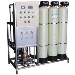 1000LPH UV water purification system แบคทีเรีย sewage น้ำ deionized pure water, reverse osmosis water treatment เครื่อง