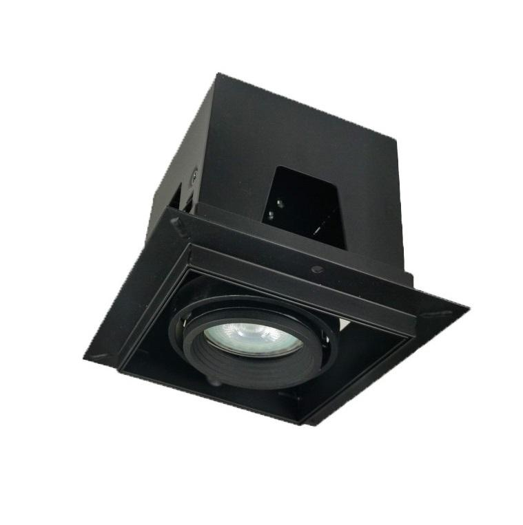 Foshan Supplier New MR16 or GU10 One-head LED Trimless Downlight LED Grille Light Housing