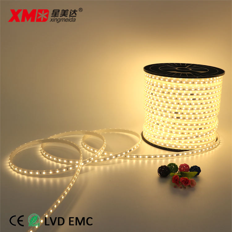 2019 ขายร้อน 60 LED/M 35LM 5630 SMD led strip 220 V