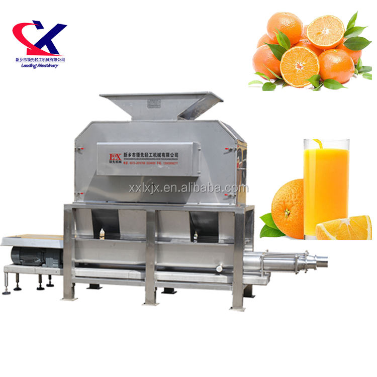 Industrial Citrus/ Lemon Peeling Machine and Juicer extractor Machine widely used for tropical fruit Orange pulp making machine