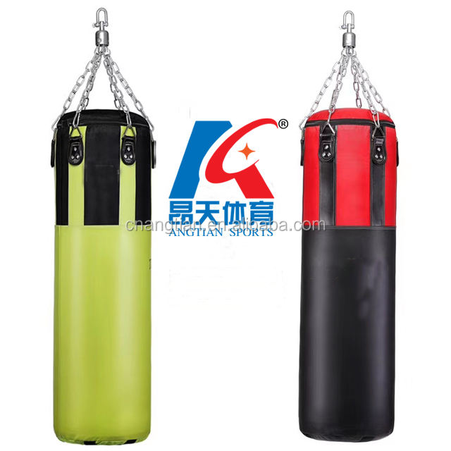 wholesale high quality muay Thai sandbag fitness MMA kicking hanging /unfilled boxing punching bag