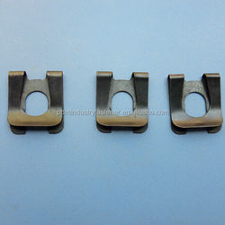 Spring Steel black color retaining clip for shaft