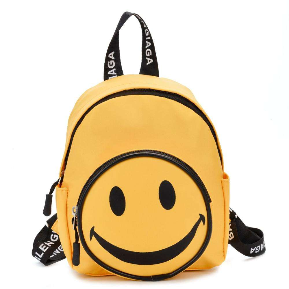 Wholesale Latest Casual Smile Teen Daypack Kids Durable School Backpack Bags for Gift