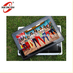 Super sentuh pad tablet 7 inch A23 quad core 3D film gratis download shenzhen pabrik tanpa kacamata komputer tablet mini pad