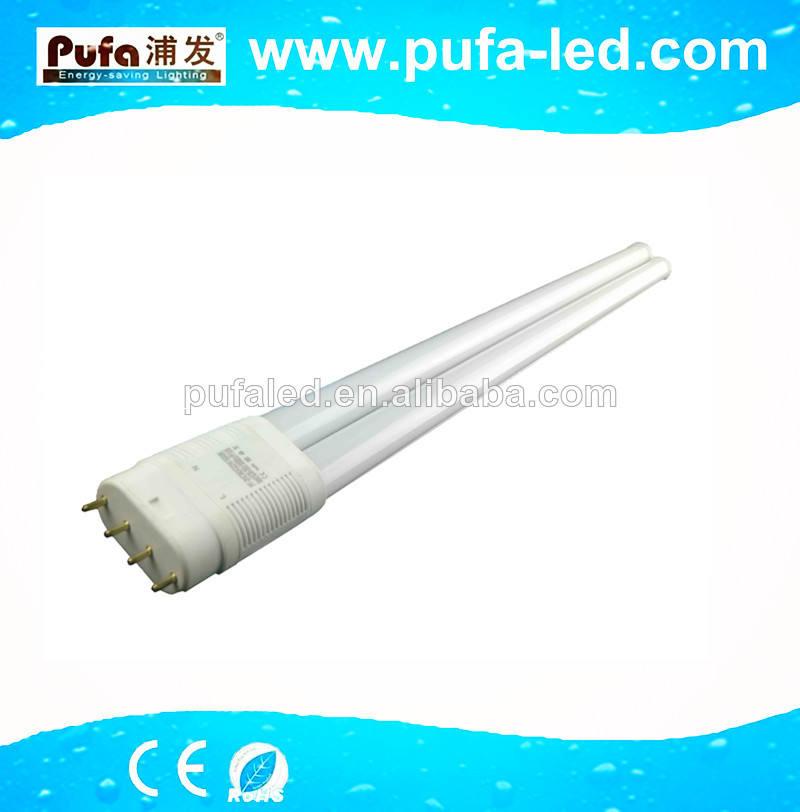 2014 nuevo producto interno aislado del conductor del led pll 2g11 tubo de luz led