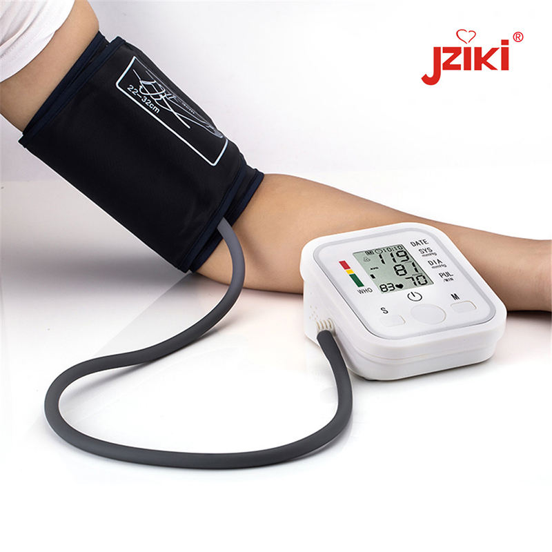 Health monitoring devices digital electronic blood pressure monitors with usb