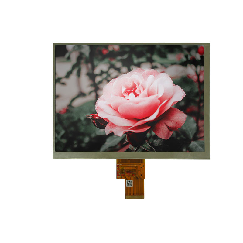 Sunlight readable 8.0 inch IPS 1024*768 monitor tft lcd for Car Navigation/TablePC/Medical Applicationt