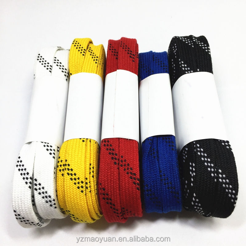 """Set Of Five Mixed Color Waxed Cotton 30/"""" Dress Shoelaces"""