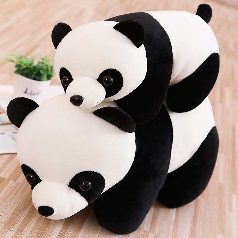 Dropshipping FreeにUS Canada 25センチメートルPanda Stuffed Toy Plush Panda Toy Panda Stuff Toy