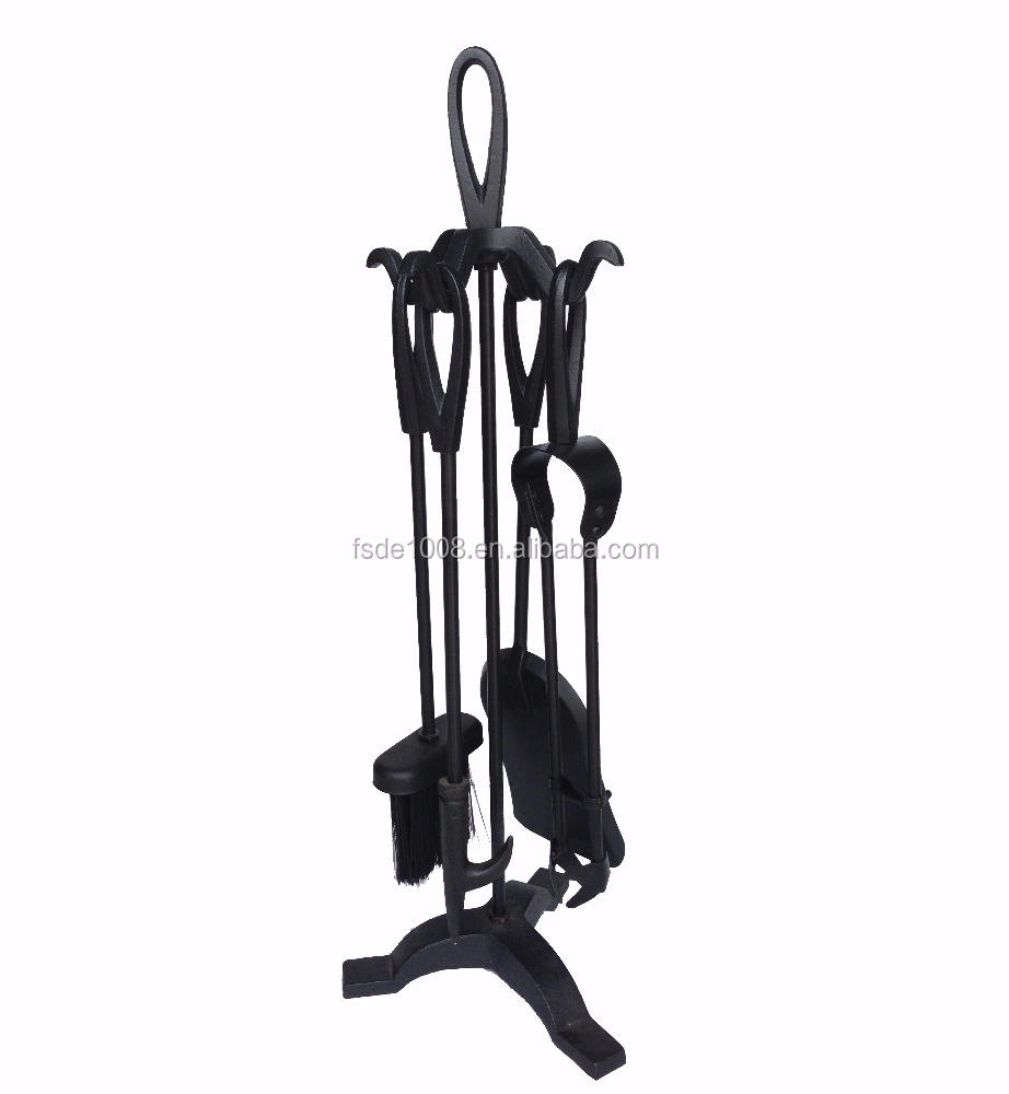 cast iron / wrought iron /fireplace tool sets