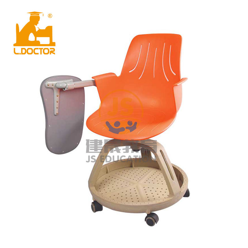 High quality school student plastic training chair with tablet