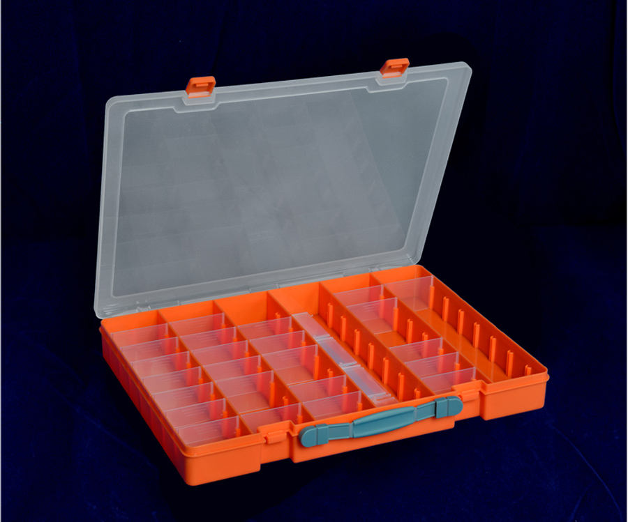 Screw Storage Removable Transparent Clear Compartments Plastic Box for Jewelry