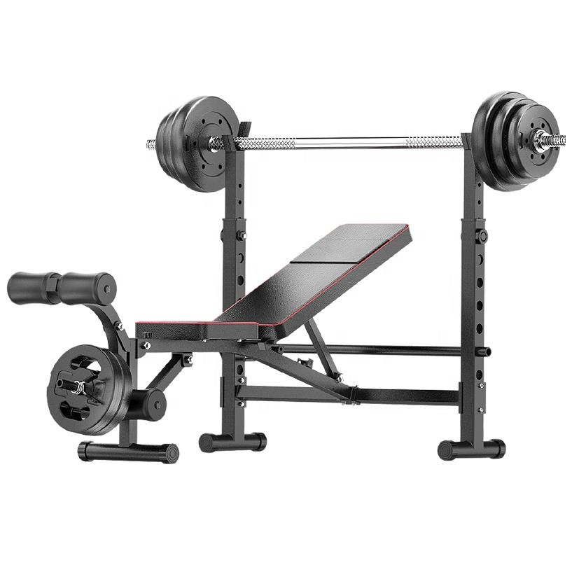 Weight Lifting Bodybuilding Equipment Fitness Bench Gym Portable Weight Bench