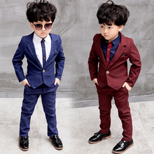 YY10091B Boys blazers kids boy suits for weddings prom suits formal dress kids tuxedo children clothing set