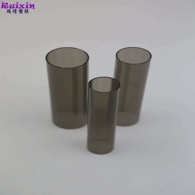 Hard PVC transparent brown pipe high quality factory price