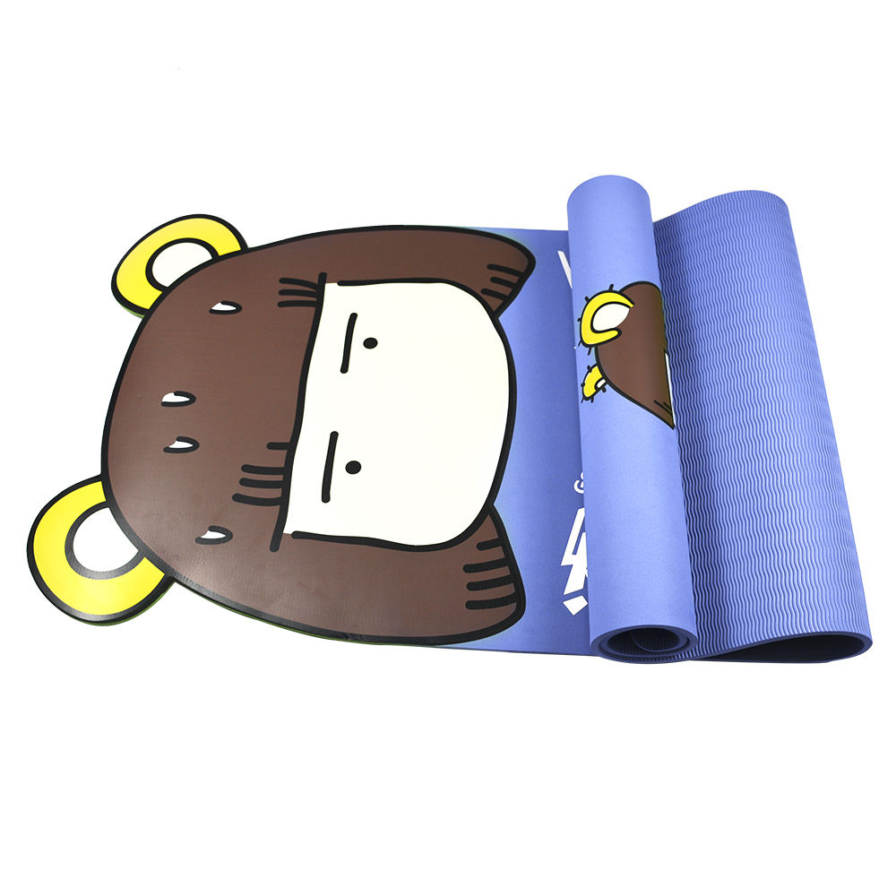 Cute mini and wholesale non slip eco kids yoga mats