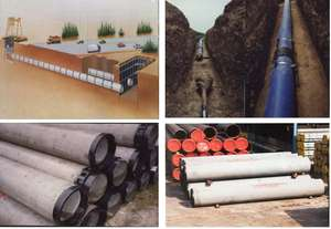 k7 k8 k9 di pipe Ductile cast iron pipe cement coating thickness Dci pipe