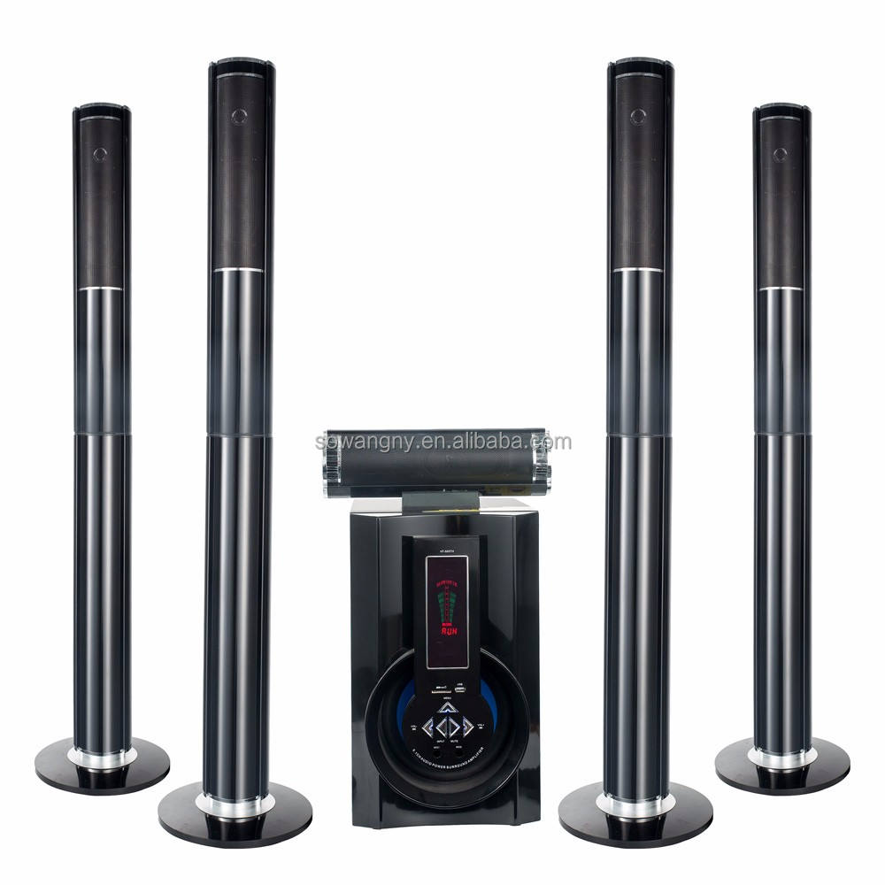 stereo 5.1 speaker system multi functional amplifier 80watt speaker with digital amplifier stereo