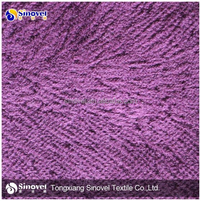 polyester koltuk kumaş için süper yumuşak <span class=keywords><strong>velboa</strong></span> perde ve kanepeler
