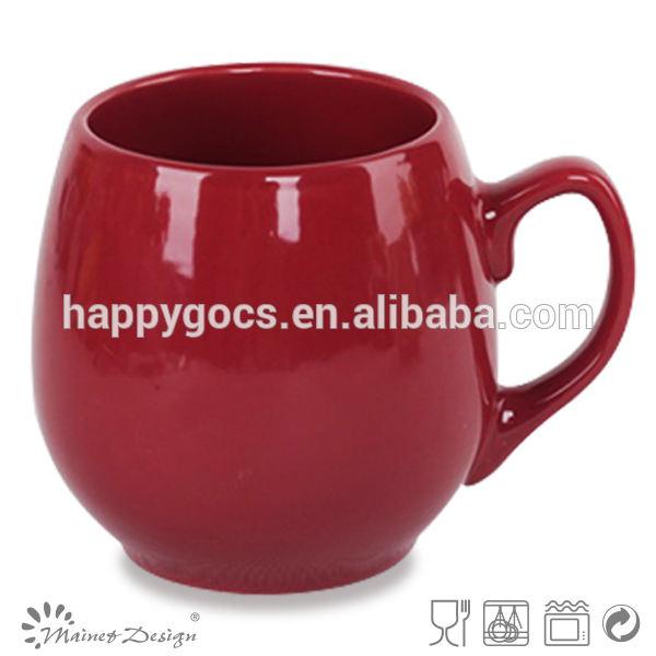 Promotional ceramic color glazed mugs
