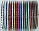 3MM 4MM 5MM round chain CD line PET sequins/PET sequin tape for garments